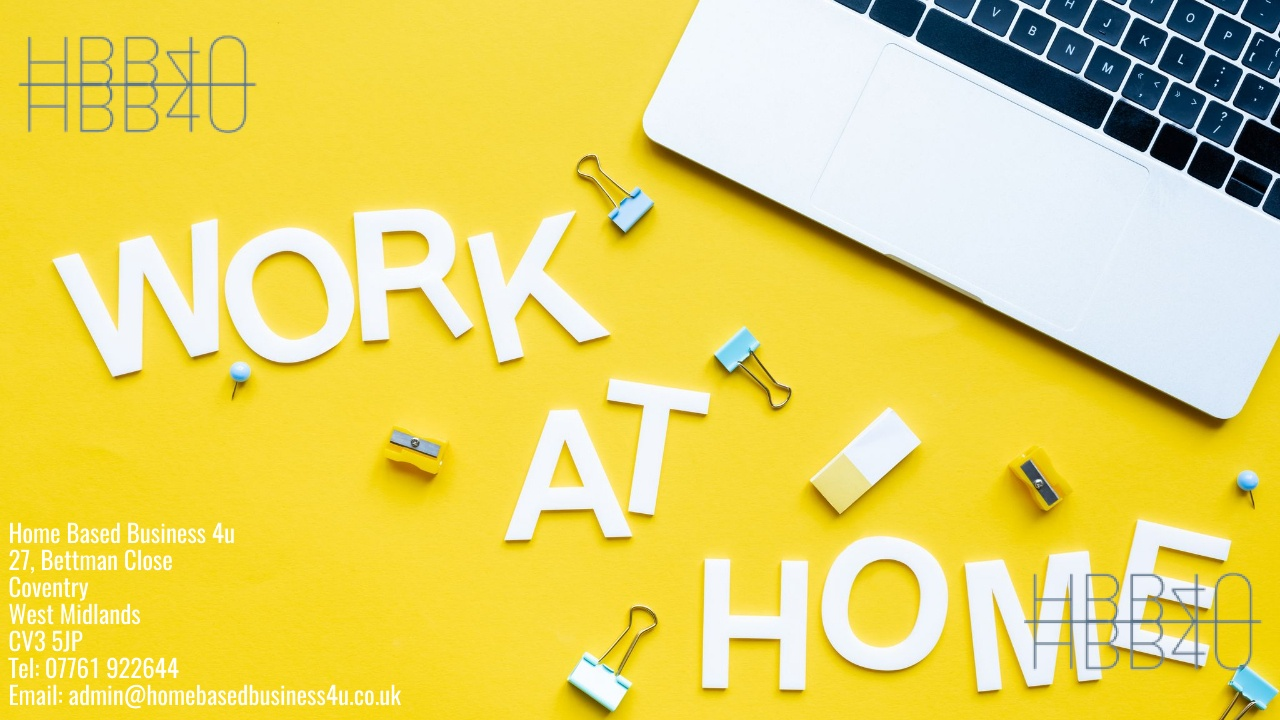 work at home business tips