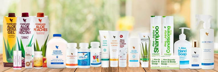 Forever Living Product Range
