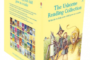 Reading collection from Usborne Books at Home