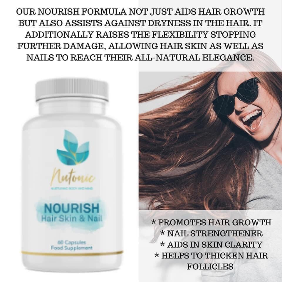 nutonic home business hair, skin and mails